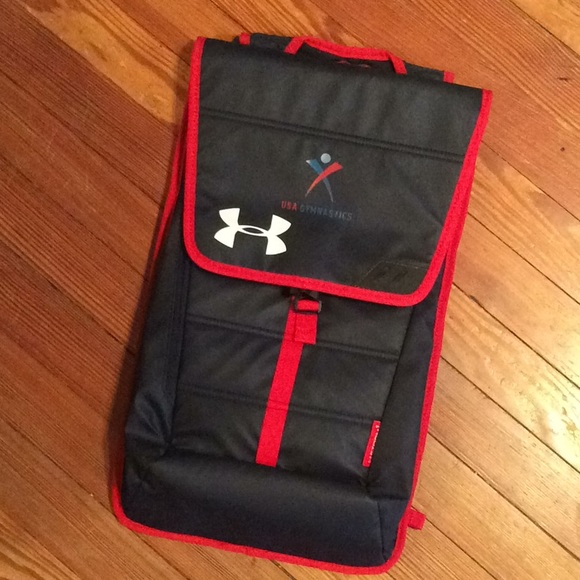 f04feb53aa24 NWOT - Under Armour Team USA Gymnastics Backpack. M 5b7b01fecdc7f7a228c80837
